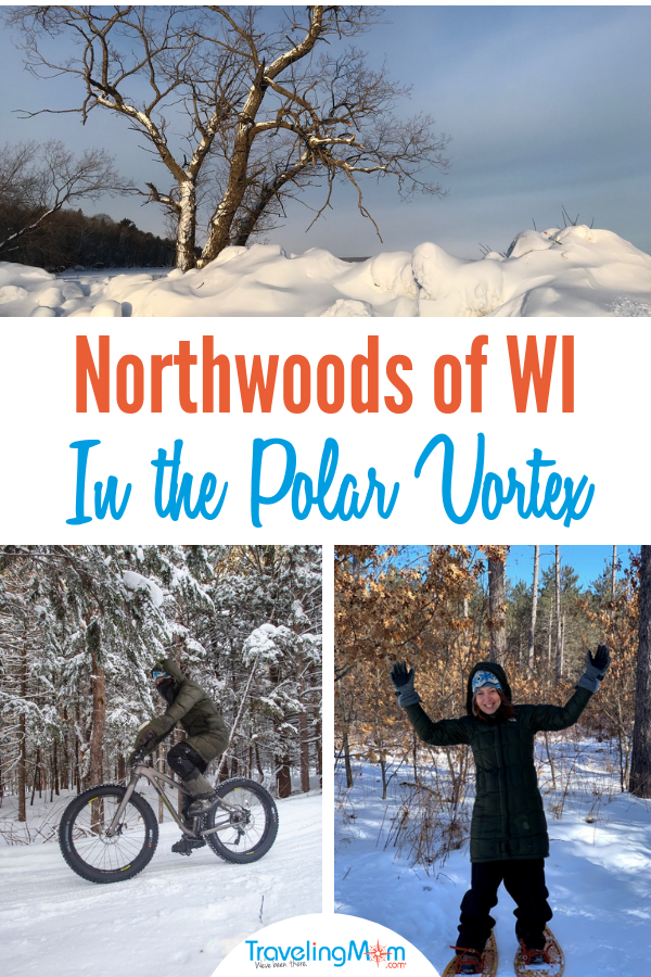 How did you 'celebrate' the #polarvortex? Embrace winter in the northwoods of Wisconsin. #travelwi