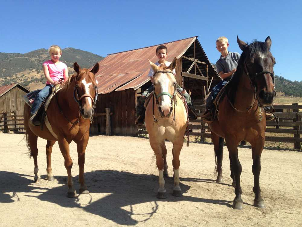 Find great children's programs at the best dude ranches for families