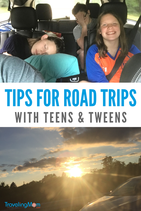 Get essential tips and hacks for planning road trips with teens and tweens --from snacks to naps to who drives when.