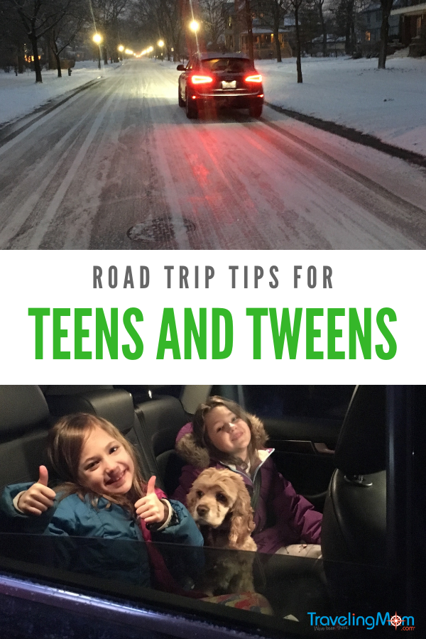 Road trip activities can make a road trip with teens and tweens fun and memorable.