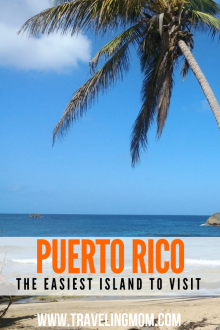 Looking for a simple island vacation? Pick Puerto Rico. No passports, no customs, easy flights, and English is an official language. #visitpuertorico #puertorico #sanjuan