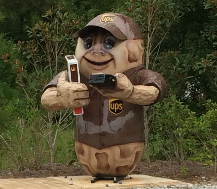 Peanuts around town is one of the things to do in Dothan Alabama on TravelingMom.com
