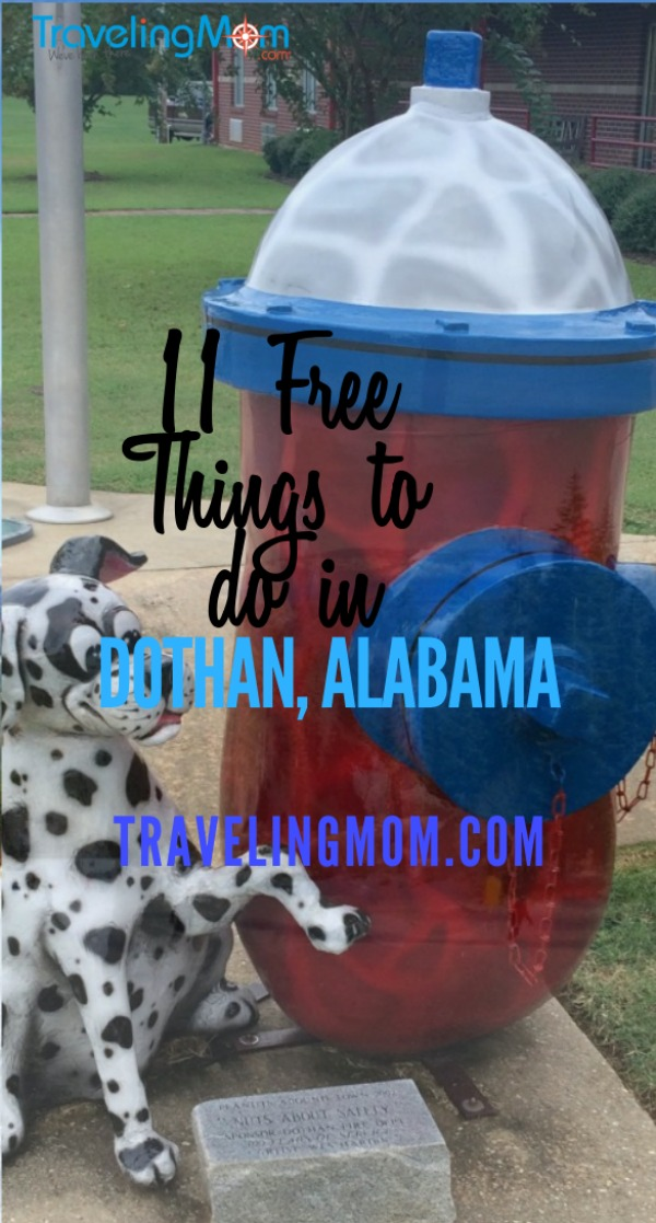 Free things to do in Dothan Alabama on TravelingMom.com