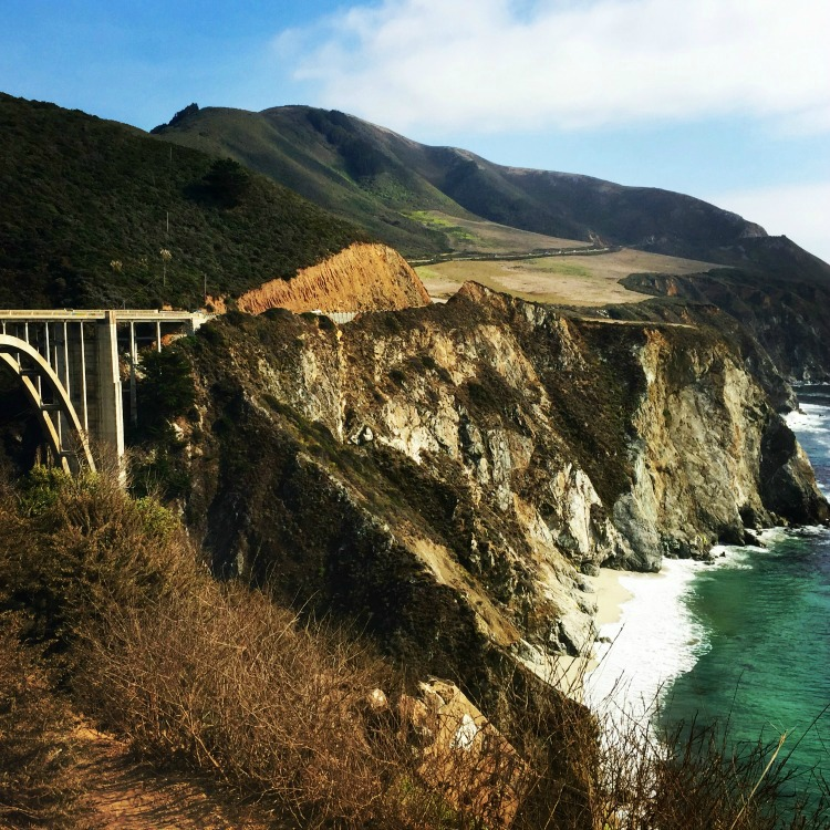 Big Sur on the Pacific Coast Highway on Road Trips USA for Travelingmom