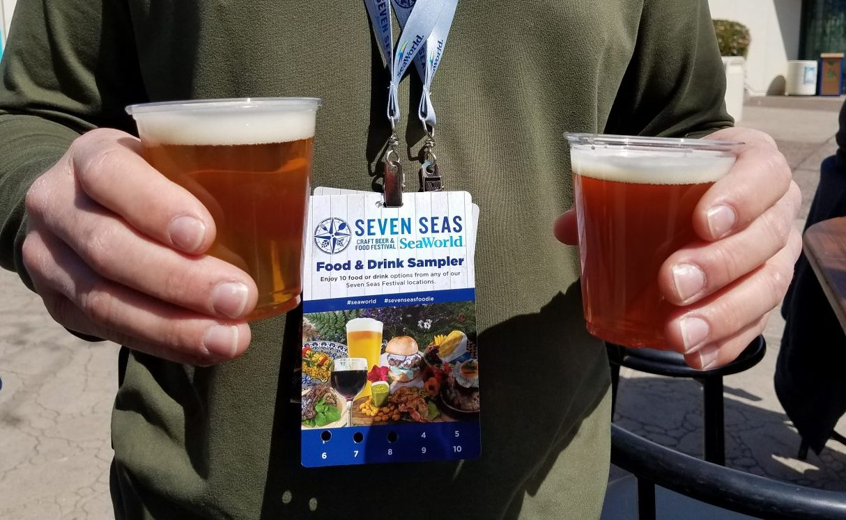 The Seven Seas SeaWorld San Diego Food Festival is an annual spring time celebration of craft beer and gourmet food. Get all the tips on this year's event including all of the international foods, local breweries and how to get the best prices on dining. Find out about event entertainment and whether a Tasting Sampler lanyard is the best value at this California special event.