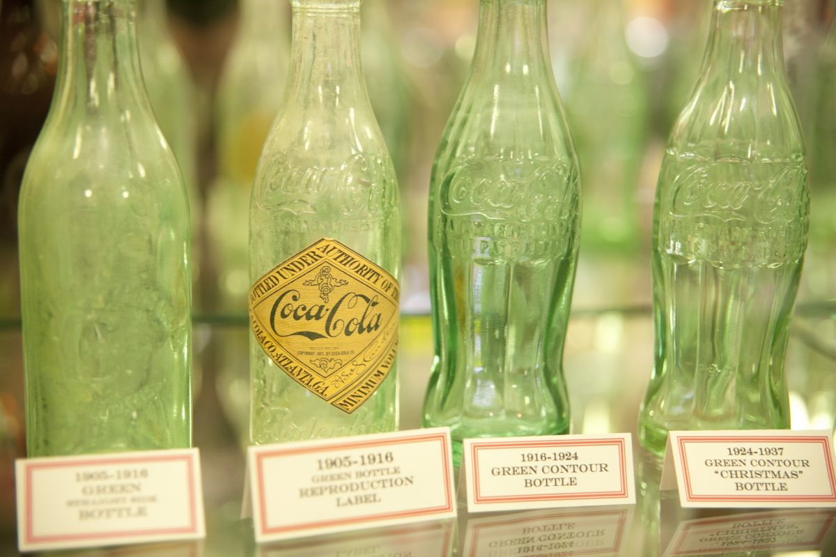 One of the free things to do in Corinth MS with kids is to visit the Coca-Cola Museum, home of the first Coke bottling plant.