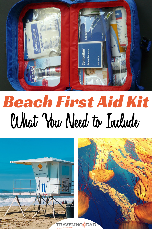 A paramedic walks you through what you need to include in a beach first aid kit. Easy items that you can buy on Amazon.