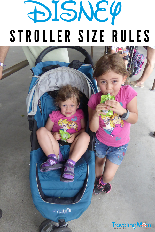 Updates will come to Disney on May 1st when stroller length restrictions go into effect and the allowable stroller width shrinks by 5 inches to 31 inches wide. We list double strollers that will still be allowed and which ones are too big.