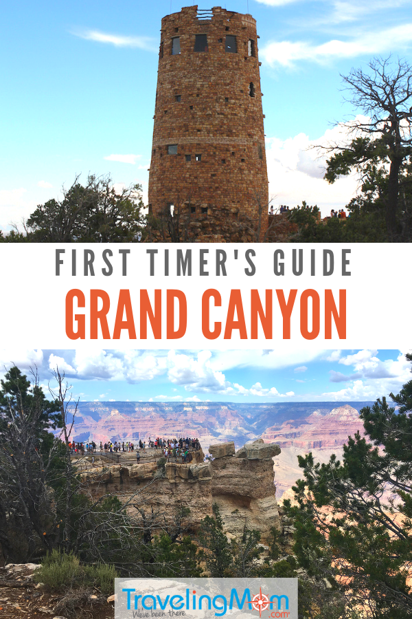 Is the Grand Canyon on your bucket list. It should be. Here's a guide for first time visitors with everything you need to plan a trip to the top destination. #TMOM #GrandCanyon