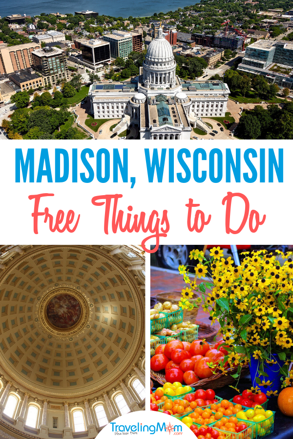 Madison Wisconsin is a vibrant capital city with tons of free things to do for families! Check out our must do list.
