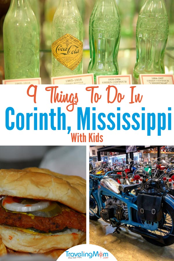 Free things to do in Corinth MS include the Coca Cola Museum. #freethingstodoincorinthMS #corinthMS #TravelingMom