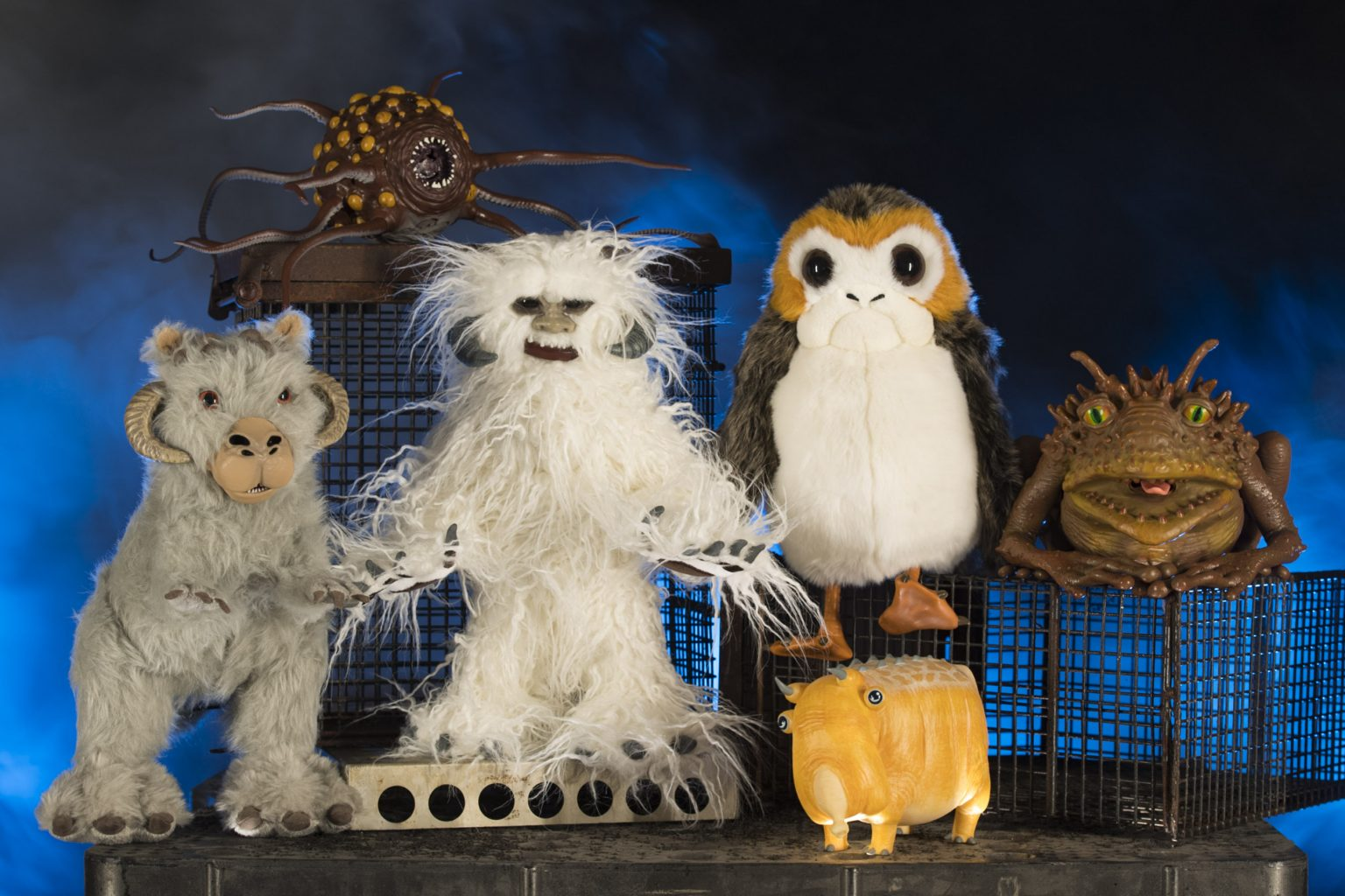Adopt intergalactic creatures at the Creature Stall in Disney's Star Wars: Galaxy's Edge