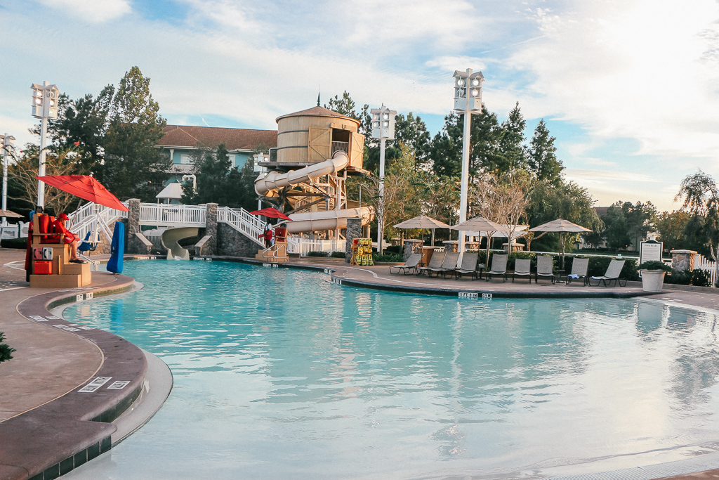 You're tempted – but is the Disney Vacation Club Worth It? Check out the pool at Disney's Saratoga Springs Resort to help you decide.