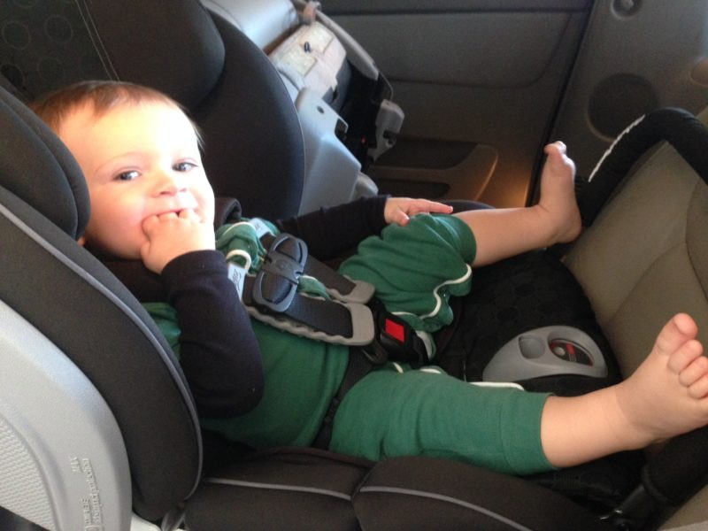 The perfect road trip with baby starts off with a properly installed car seat.