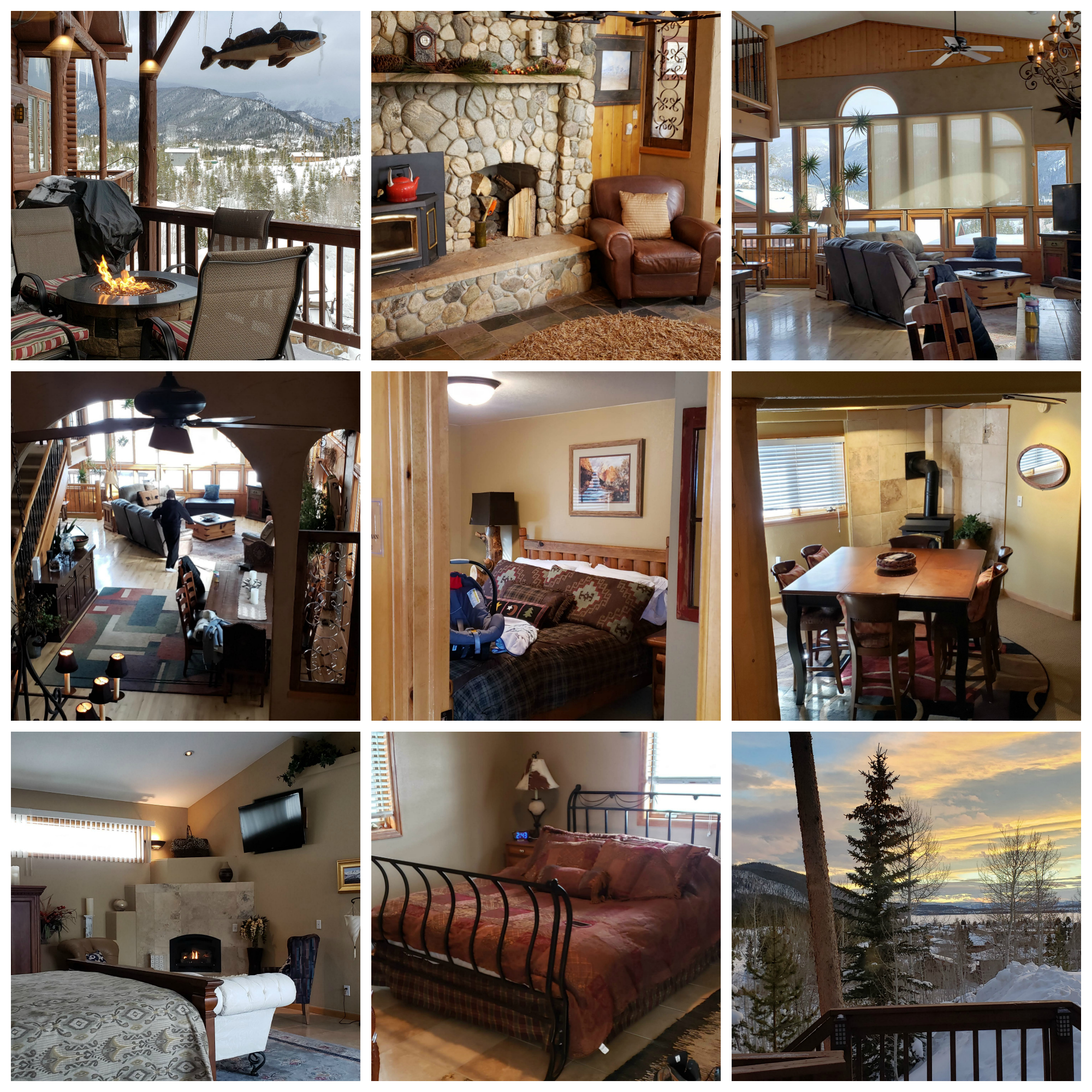 For multigenerational family travel, the Overlook at Grand Lake is the perfect mountain town accommodations, sleeping up to 22.