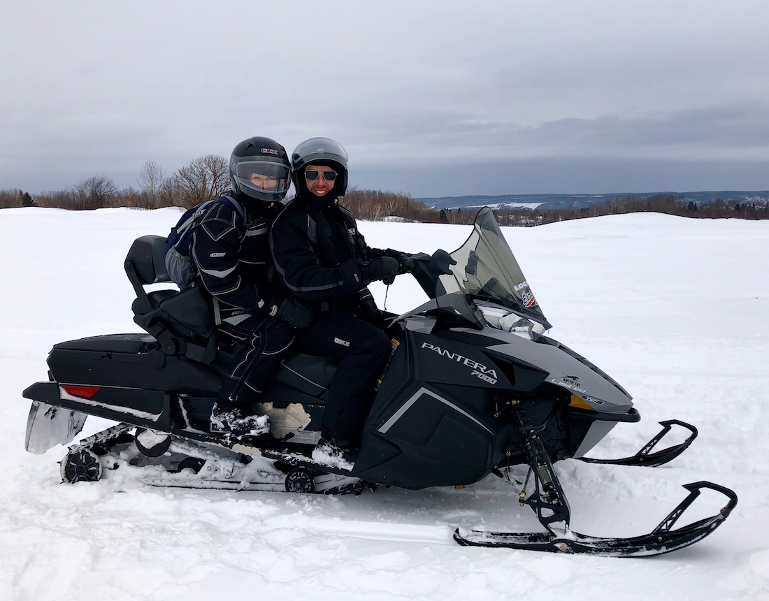 Snowmobiling in Saguenay Lac Saint Jean. What to do in Saguenay Lac Saint Jean in Winter.