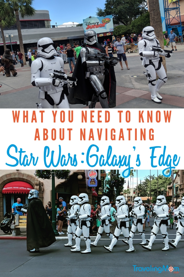 This ultimate guide to Disney's Star Wars Land has everything you need to know to make the most of your trip to a galaxy far far away! We have opening dates, what to expect plus tips and tricks for an out of this world adventure perfect for all Star Wars fans. #DisneyWorld #StarWars #Galaxysedge #Disneytips