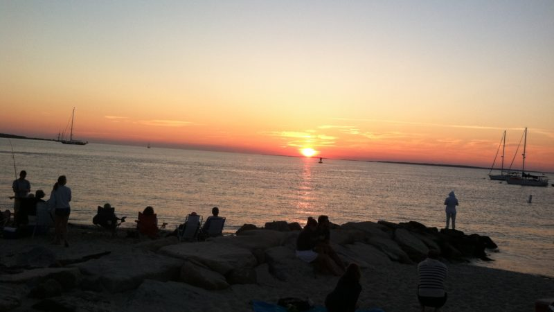 The best beaches in the east coast are known fortheir sunsets