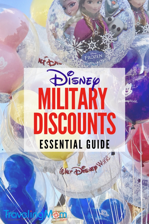 Are you a military family and looking for ways to save at Disney World? Here are 8 of the best military discounts at Disney! #TMOM #militarydiscounts #DisneyWorld #Disney #Disneymilitarydiscounts #familytravel #budgettravel