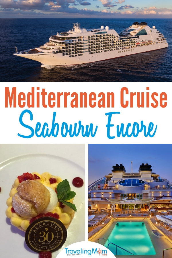 Looking for the best Mediterranean cruise? We've got tips on planning your cruise on the Seabourn Encore. #cruises #mediterranean #travel