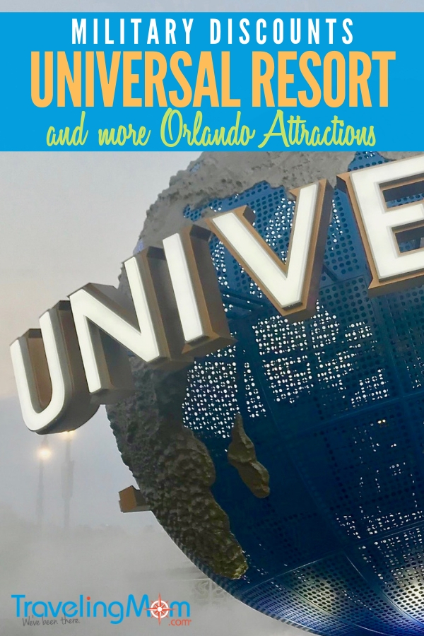 Complete guide to Universal Resort Military Discounts and more Orlando attractions, including LEGOLand, Medieval Times and more! #familytravel #militarydiscounts #militarysavings #militarymoms #militarylife