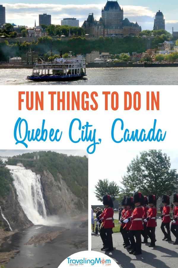 Read on to learn all the fun things there are to do in Quebec City. #thingstodoinquebeccity #Canadatravel #TravelingMom