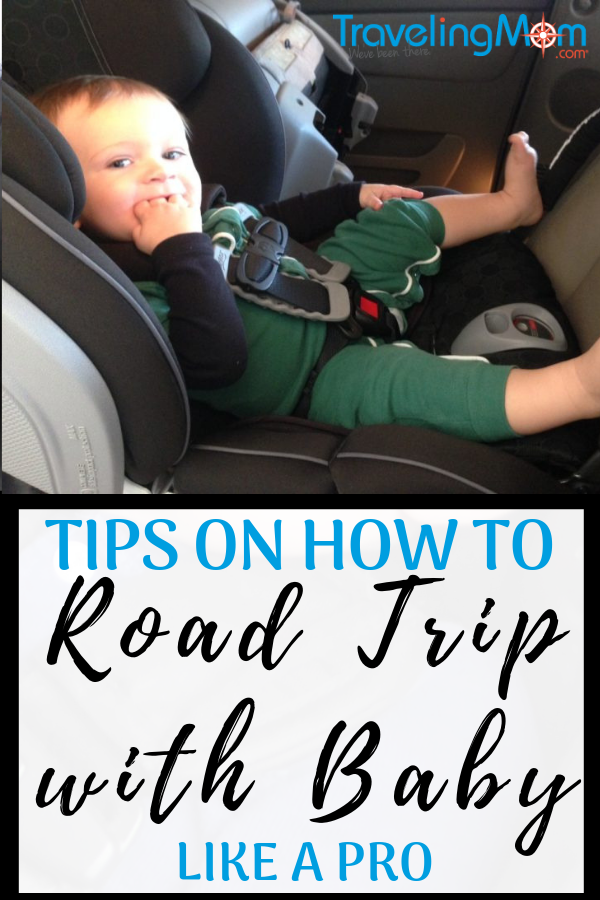 Check out our hints, tips and tricks on how to road trip with baby! #TravelingMom #roadtrip #babytips #travelwithbaby