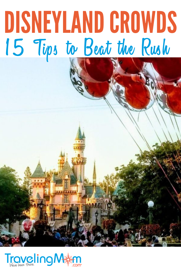 Heading to the Disneyland Resort? Don't let crowds get in the way of having fun! Here are 15 insider tips to help you beat the rush.