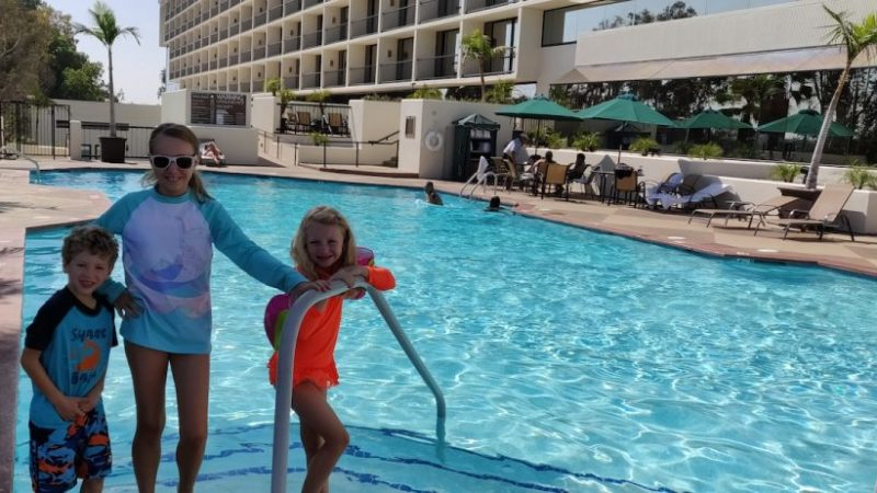 Hilton Costa Mesa's Amazing Pool