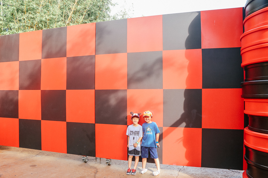 two boys at Disney World