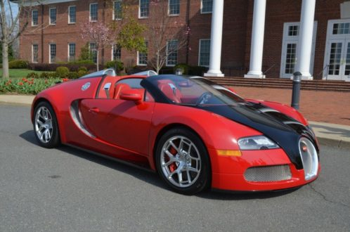 Bugatti Veyron dad hot car