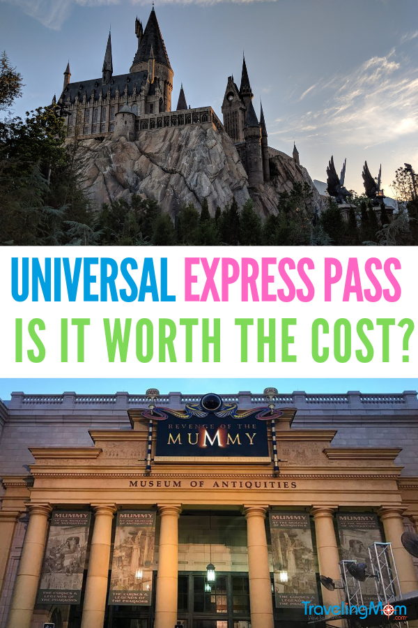 Universal express pass pin