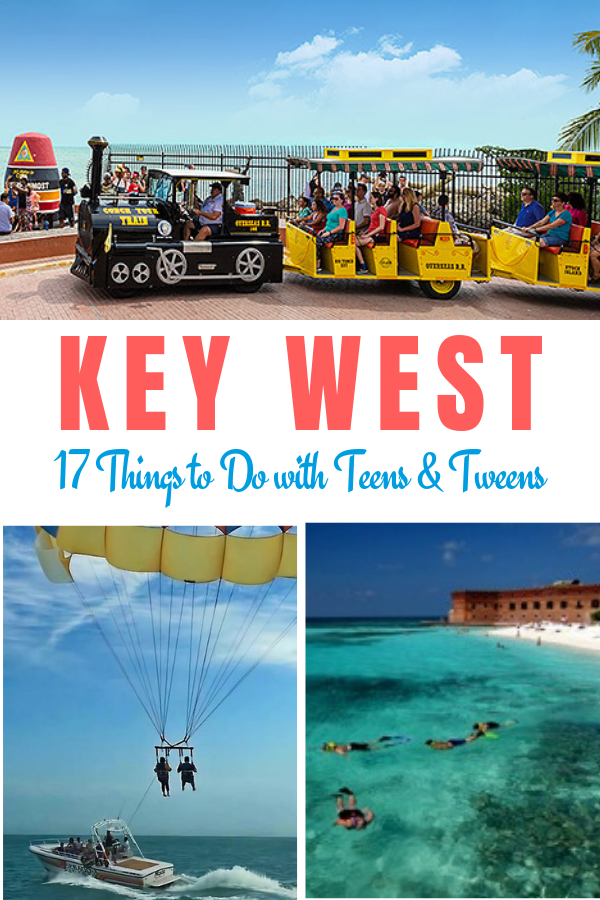 Key West with Teens and Tweens