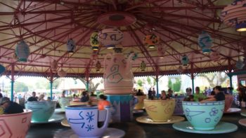 Mad Tea Party at Disney's Magic Kingdom