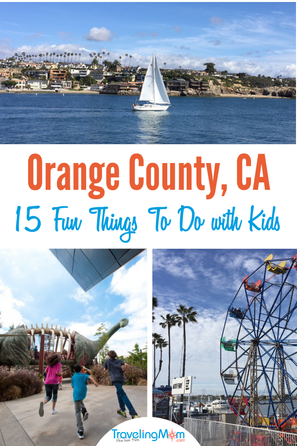From biking at the beach to wild west experiences, here are 15 fun things to do in Orange County with kids, before or after visiting Disneyland!