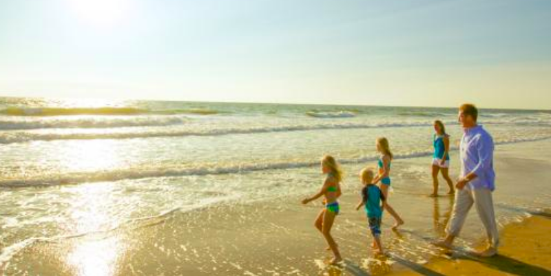 The best beaches on the East Coast aer great for famlilies