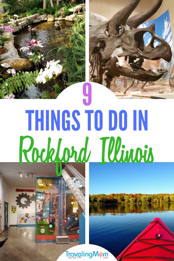 Discover the 9 top things to do in Rockford IL. #familytravel #Rockford #midwesttravel