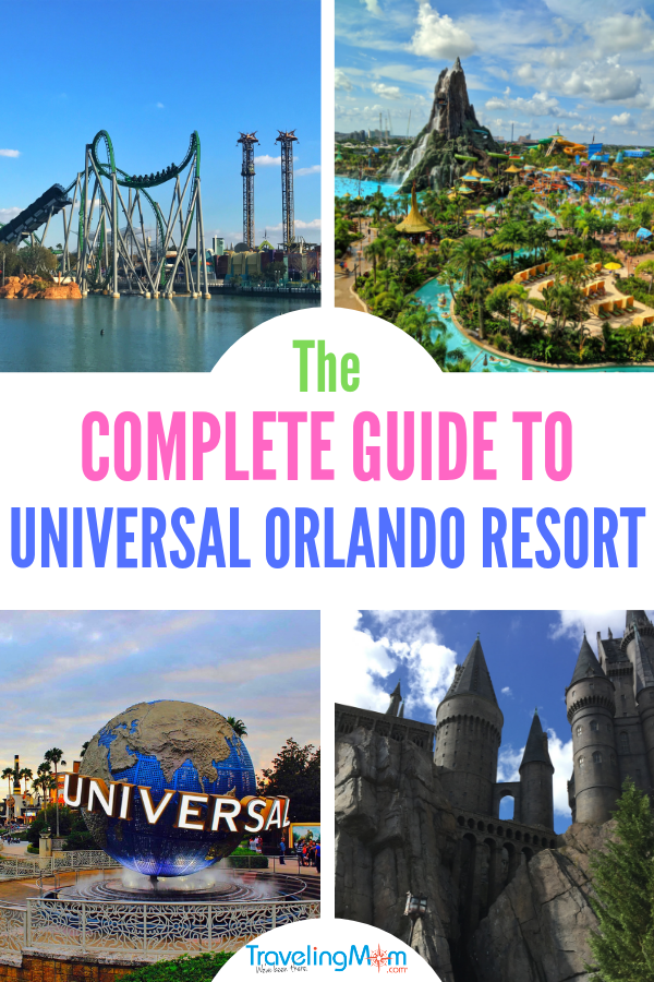 From rides to food to which park is best for which age kid, learn everything you need to know about Universal Studios theme park in Orlando. #VolcanoBay #UniversalStudios #IslandsofAdventure #TravelingMom