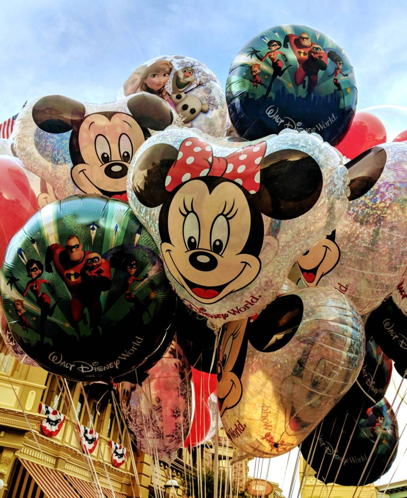 Disney balloons and souvenirs are another item that factors into how much your vacation costs.