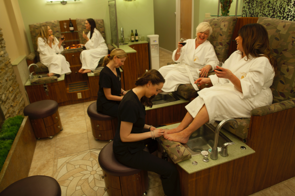 Get a mani or pedi at The Spa at Norwich Inn