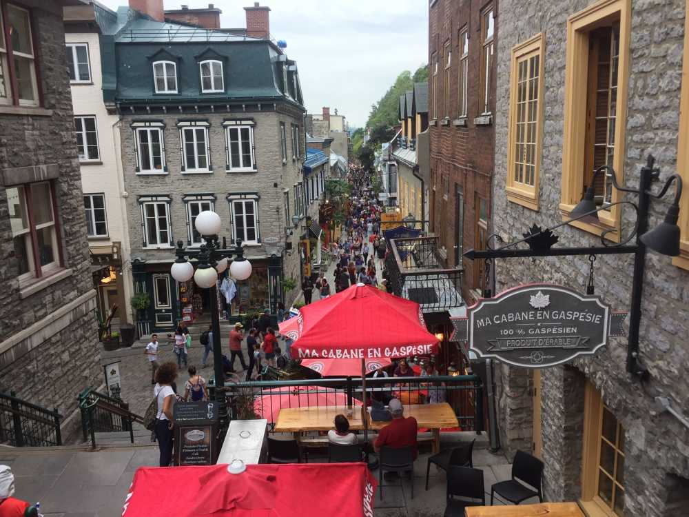 Exploring Lower Town on foot is among fun things to do in Quebec City