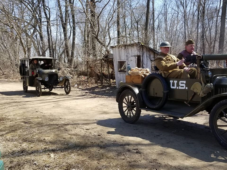 Seeing the WWI reenactment is just one of the educational things to do in Rockford IL.