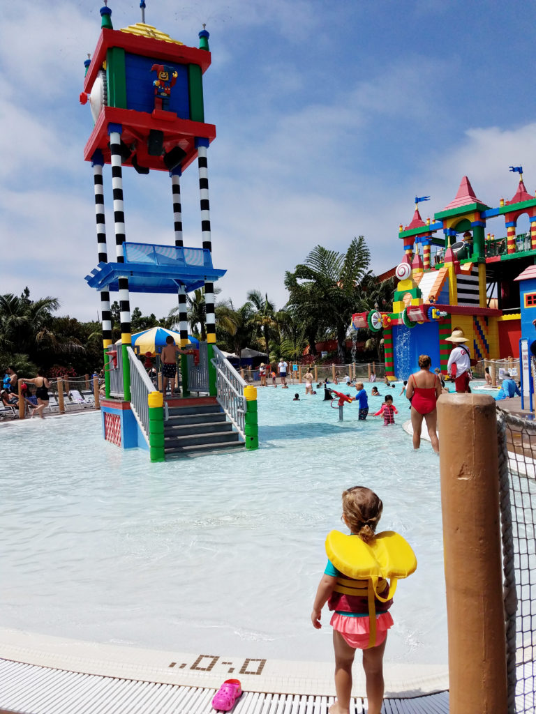 LEGOLAND water park in Carlsbad California