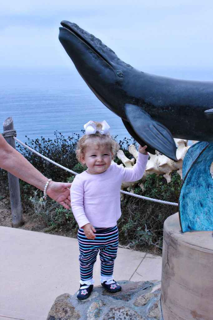 Visiting Cabrillo National Monument in San Diego with a toddler
