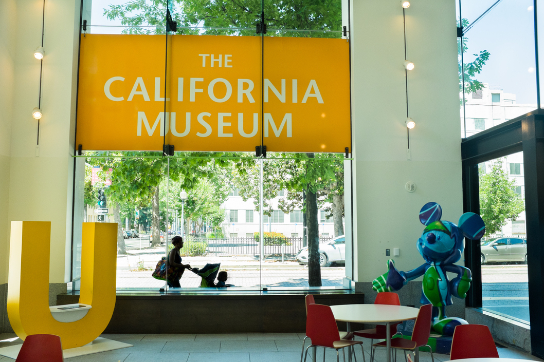 California Museum. free things to do in Sacramento