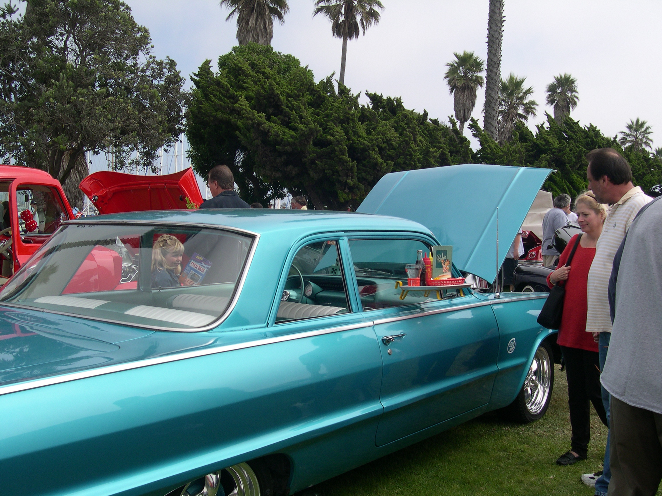A car show is among Father's Day activities in California