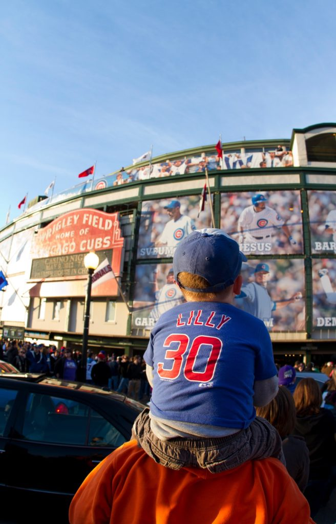 There are fun things to do with kids in Wrigleyville.