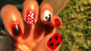 Try your hand at delightful DIY Disney nails! I'm sure you'll love it as much as I did.
