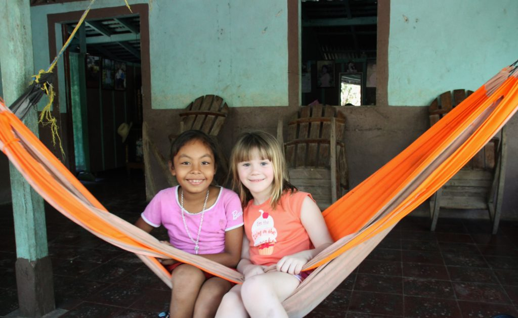 Voluntourism - hammock pals.