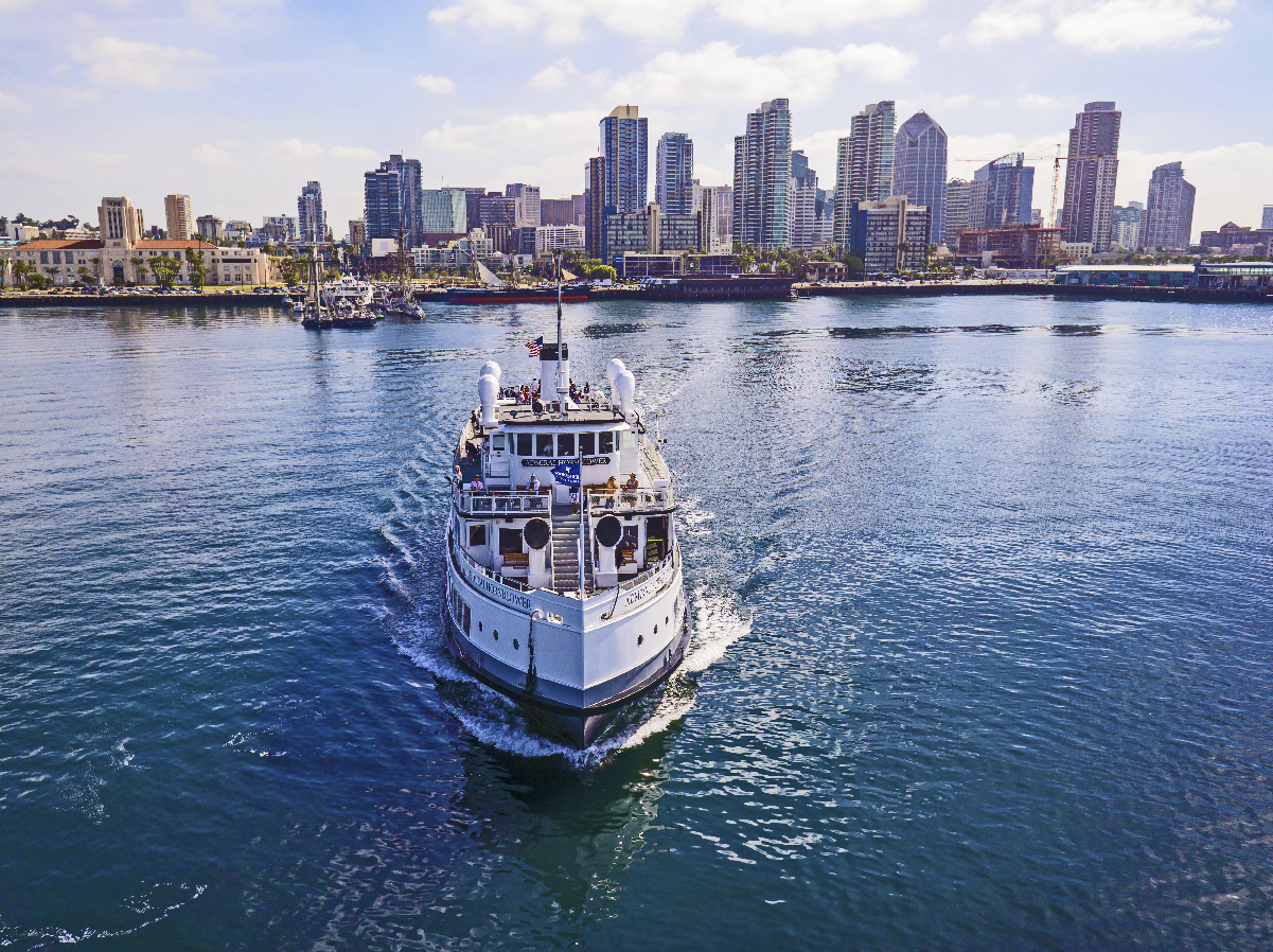 Take dad for a brunch or sunset cruise for Father's Day activities